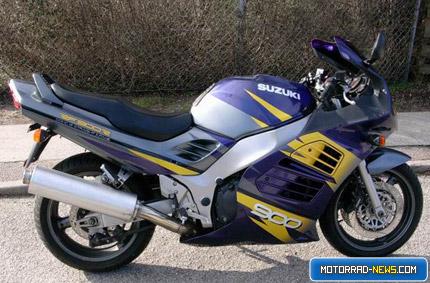 Suzuki RF1000R Fotomontage
