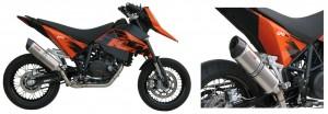 SC-Project Auspuff für KTM 690 Supermoto