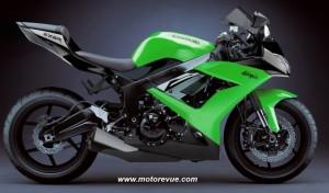 Kawasaki ZX-6R 2009 Fotomontage