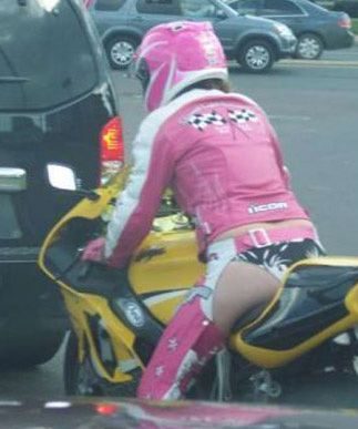 Neuer Trend bei der Motorradbekleidung