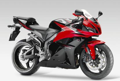 2009er Honda CBR600RR vorgestellt