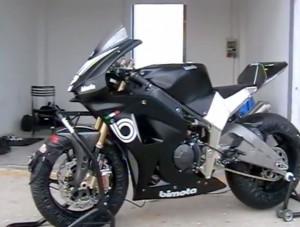 Bimota Moto2 Racer auf Zeitenjagd