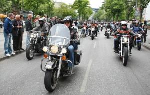 Hamburg Harley Days 2010 mit neuer Location