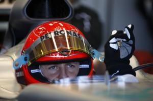 Schumacher startet Comeback mit Schuberth