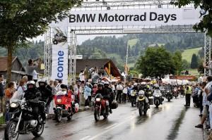 10 Jahre BMW Motorrad Days - Party in Garmisch-Partenkirchen