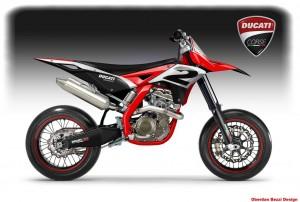 Ducati Desmotard Concept von Oberdan Bezzi