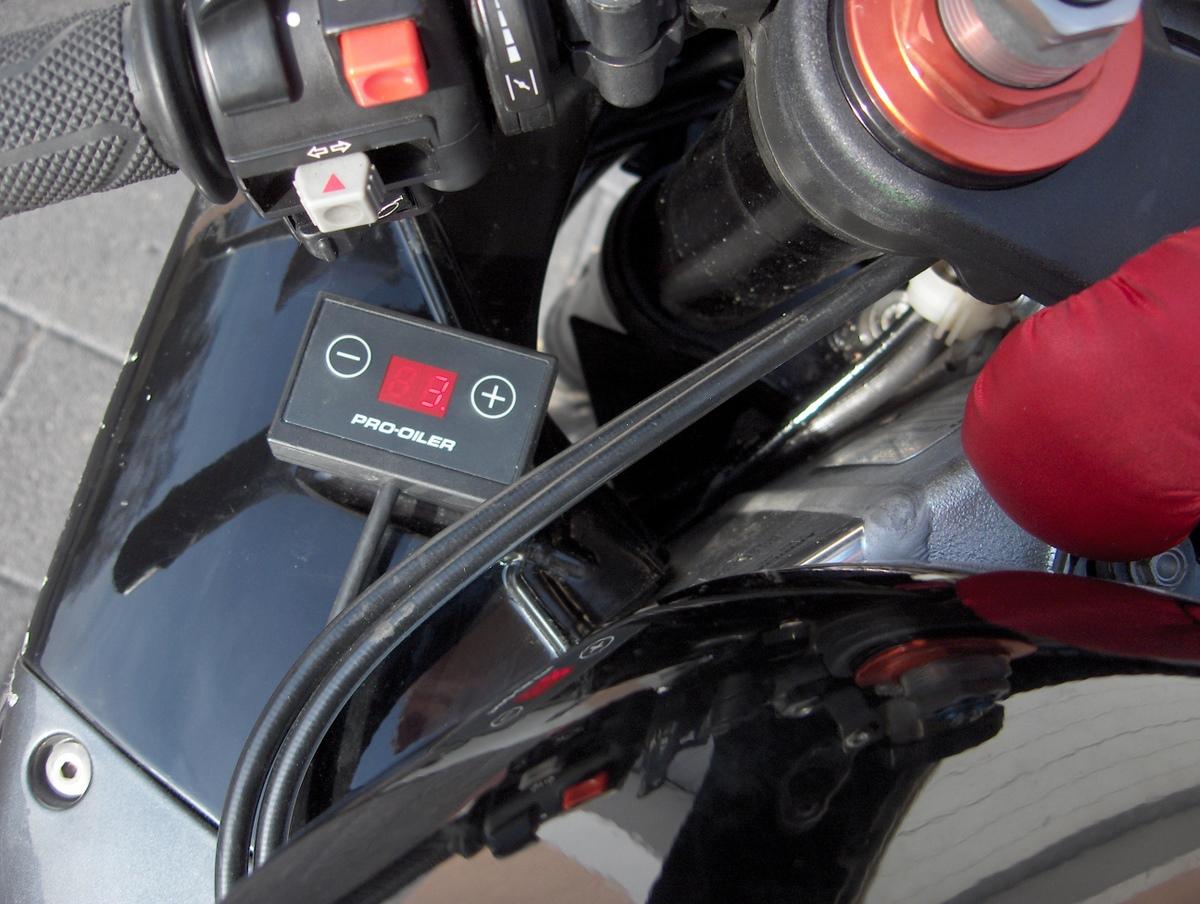 Zubehör-Test: Kettenschmiersystem Pro Oiler