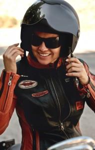 Harley Probe fahren am Café Zündstoff