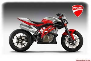Ducati Desmolight 450 Konzept von Oberdan Bezzi