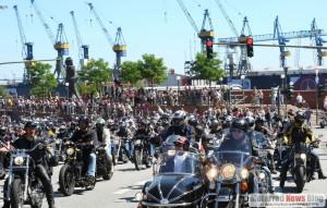 Hamburg Harley Days: 600.000 Biker und Partyfans