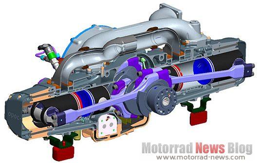 OPOC-Zweitaktmotor