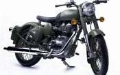 Royal Enfield Bullet Classic Battle Green 2
