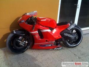 Nicky Hayden's Ducati Diavel Konzept