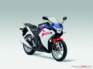 Die neue Honda CBR250R.