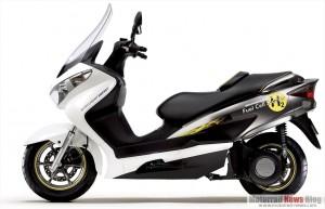 Suzuki Burgman Fuel-Cell Scooter: Brennstoffzellen-Fahrzeug mit EU-Zulassung