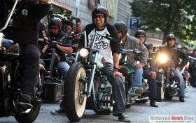 Sehen und gesehen werden - die Hamburg Harley Days 2011