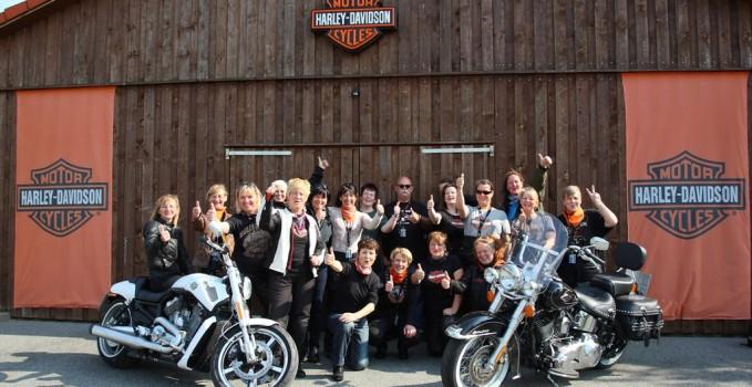 Harley Frauenkurs Fleesensee