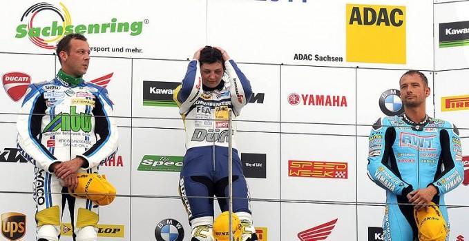 IDM Heide Podium Sachsenring 2011