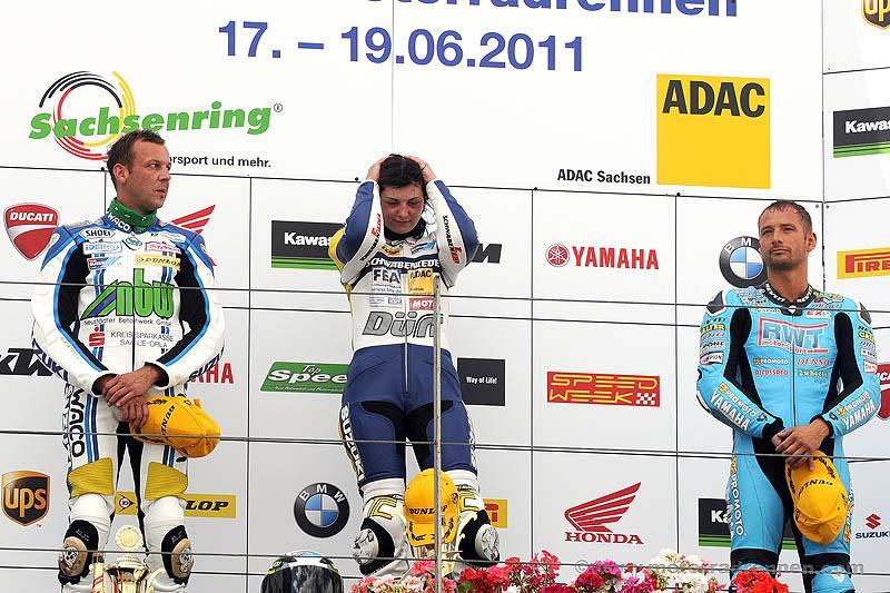 Rennen ihres Lebens: Sarah Heide IDM Siegerin Sachsenring