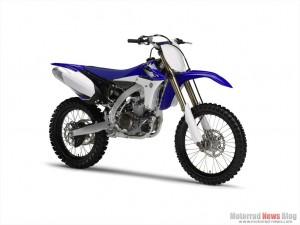 Yamaha Motocross-Modelle 2012: YZ250F und YZ450F überarbeitet