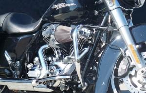 Harley's auf Wunsch mit 120 cubic inch Screamin' Eagle Motor