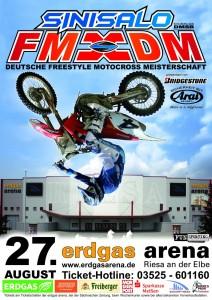 Auftakt Deutsche Freestyle Motocross Meisterschaft in Riesa