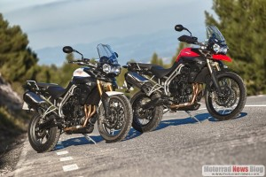 Rückruf: Triumph Tiger 800 und Tiger 800 XC