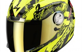 Scorpion exo1000 pulse yellow black
