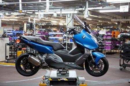 BMW startet Produktion der neuen Maxi-Scooter