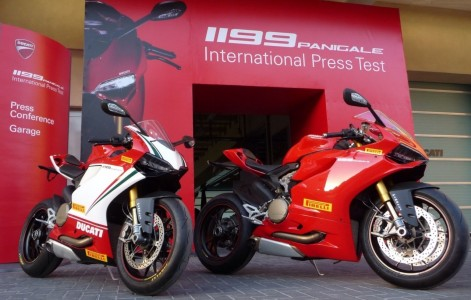 Ducati 1199 Panigale - Ab Werk mit neuen Pirelli Diablo Supercorsa SP