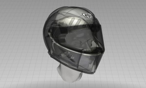 AVG-Dainese PistaGP Helm Details 2012 (14)
