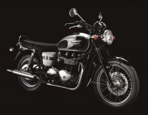 Die T100 110th Anniversary Bonni ist laut Triumph quasi das Gegenstück, zu den Hightech Motorrädern des britischen Herstellers.