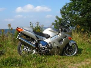 Kurzer Auftritt, die VFR800 war für sich ein tolles Motorrad, mit der Zickigkeit einer italienischen Diva der 70er Jahre. Glückstreffer oder so.