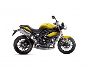Gelb Nummer Zwei - Triumph Speed Triple Sulphur Yellow.