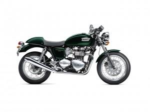 Triumph Thruxton Brookgreen 2012