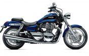 Triumph Thunderbird Caspian Blue 2012
