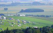Sachsenring 2012 - Blick auf den Ankerberg (Mittwoch)