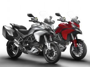 Ducati Multistrada 1200S Touring und Multistrada 1200