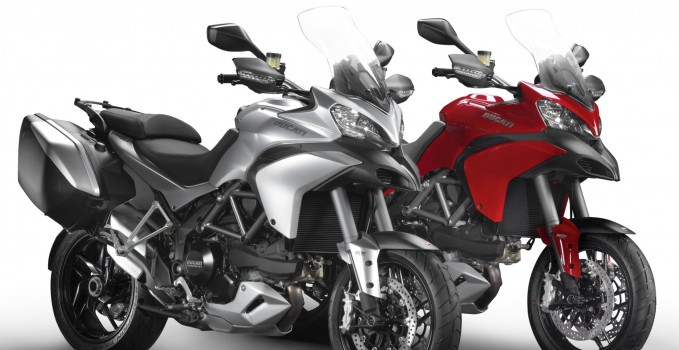 Ducati Multistrada 1200S Touring und Multistrada 1200 Modelle 2013