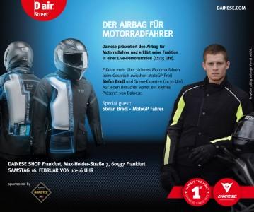 Stefan Bradl - Dainese D-air Street Motorrad Airbag