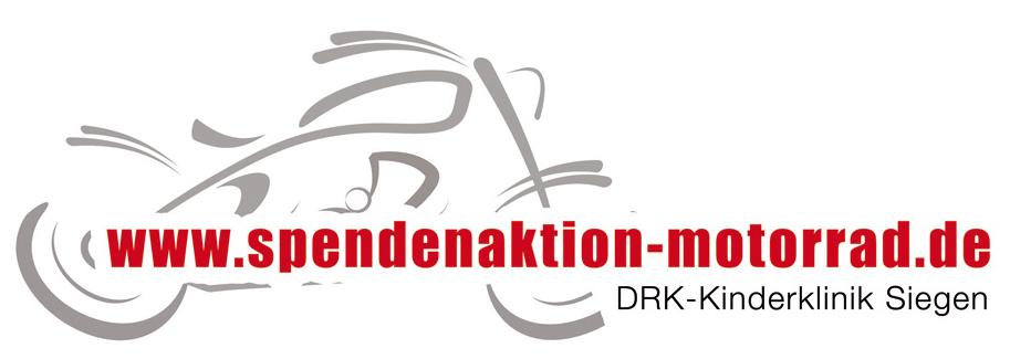 Logo Spendenaktion Motorrad