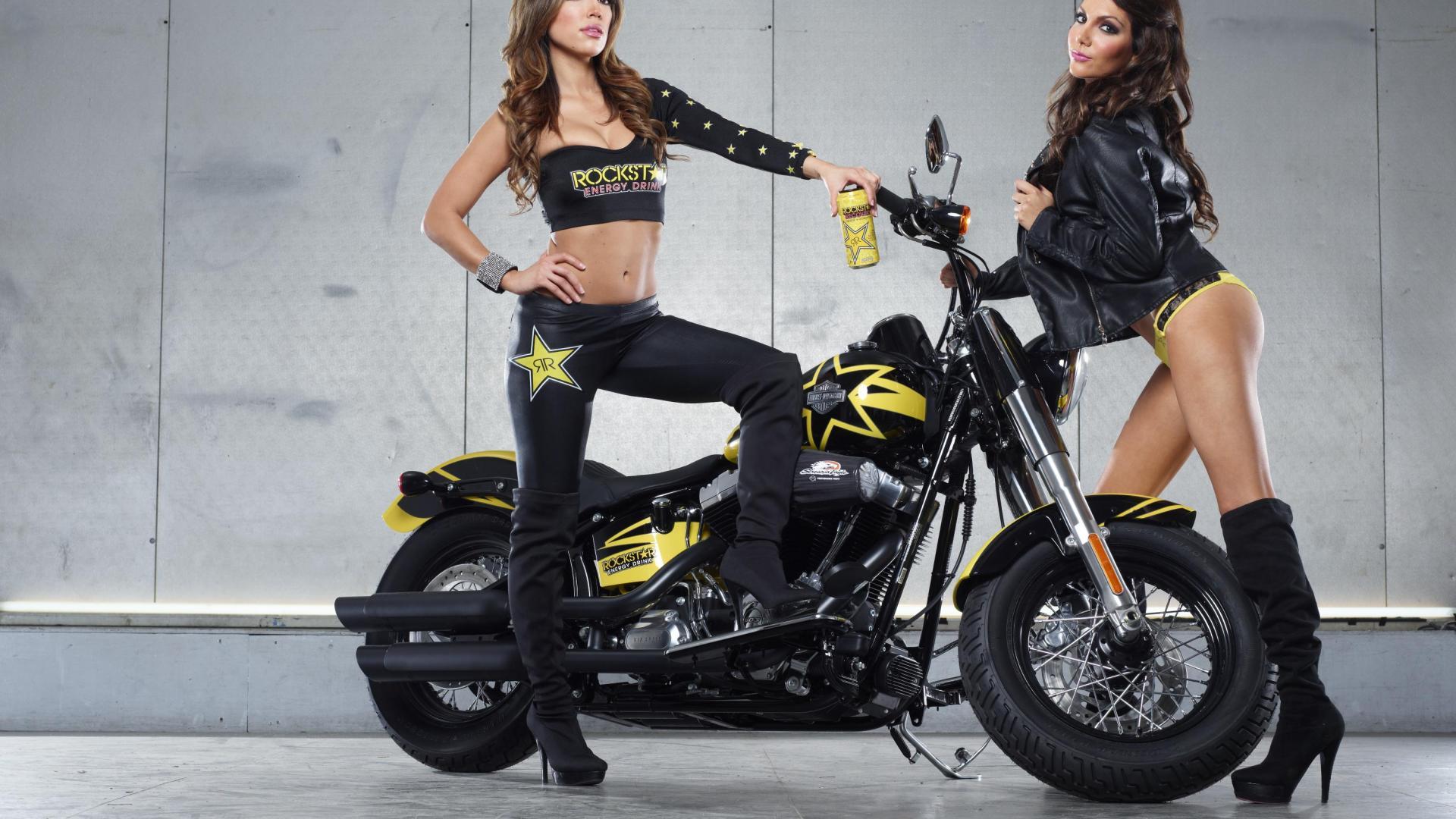 Modelos de BMW - chicas Harley Davidson