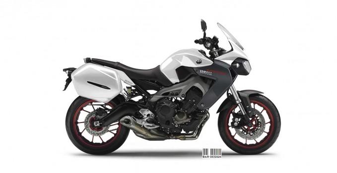 Yamaha MT-DM 850 Concept by Luca Bar Design 2013-1