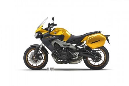 Yamaha MT-DM 850 Concept by Luca Bar Design