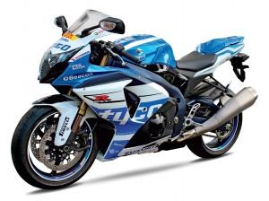 Als Hauptpreis darf sich ein Gewinner über diese schmucke Suzuki GSX-R 1000 TYCO Edition freuen.