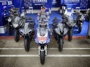 Yamaha Race Blu 2014 Jorge Lorenzo