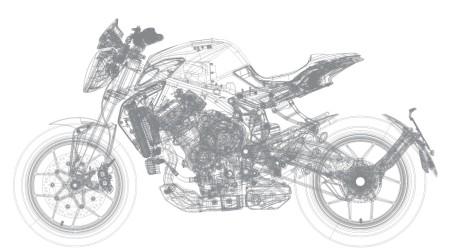 MV Agusta Brutale 800 Detail