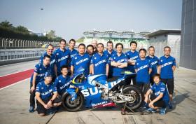 Suzuki MotoGP Test Sepang 2014-2