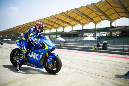 Suzuki MotoGP Test Sepang 2014