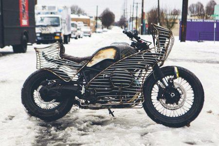 Ja auch das ist eine nineT, zugegeben wohl der momentan radikalste Umbau. Eines ist die IMPOSTOR auf jeden Fall: auffällig. Foto: (c) El Solitario motorcycles